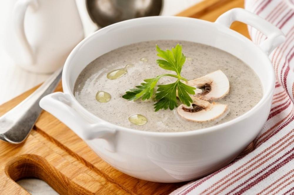 Грибной крем суп рецепт с фото