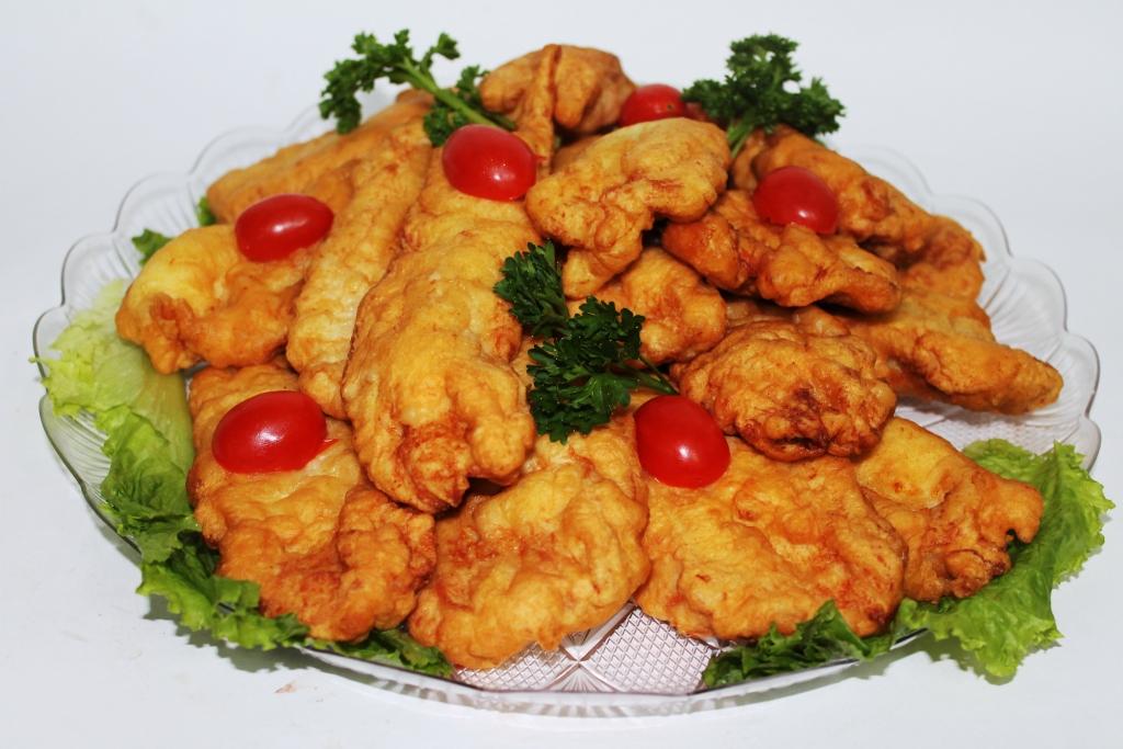 Куриные кусочки в кляре рецепт с фото